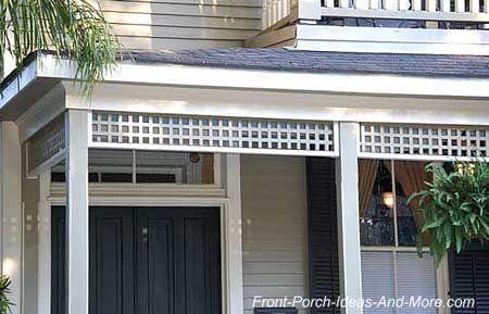 lattice trim molding for sale | ... House Trim | Outdoor Trim | Exterior Trim Ideas | Molding Exterior - THIS LINK GOES TO A BLOG ABOUT HISTORIC PORCHES