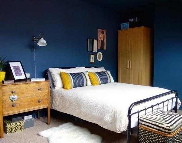 75 Brilliant Blue Bedroom Ideas And Photos Blue Rooms Yellow Bedroom Blue Yellow Bedrooms
