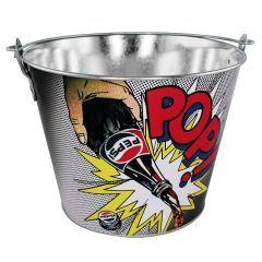Balde de Gelo Comics com Abridor - Pepsi