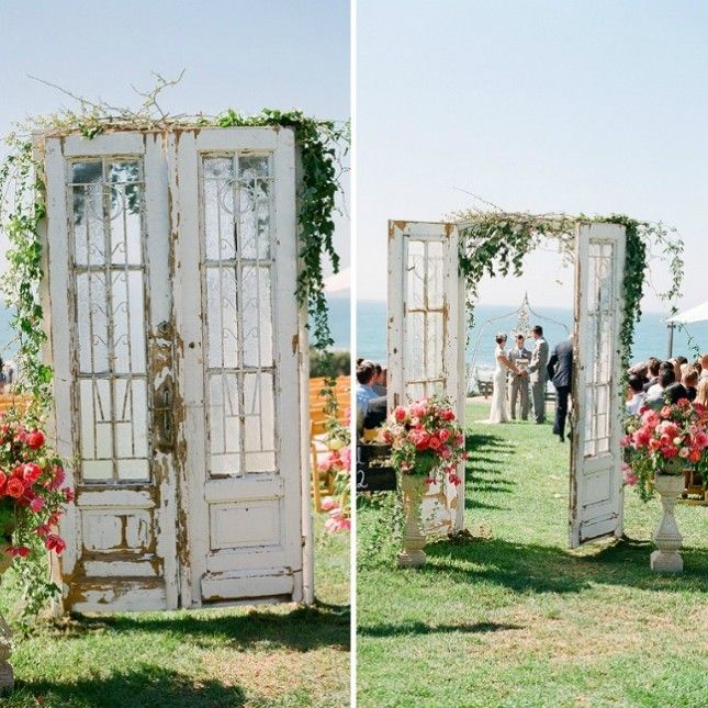 30 Inspirational Rustic Barn Wedding Ideas: 25+ Best Ideas About Outdoor Wedding Doors On Pinterest