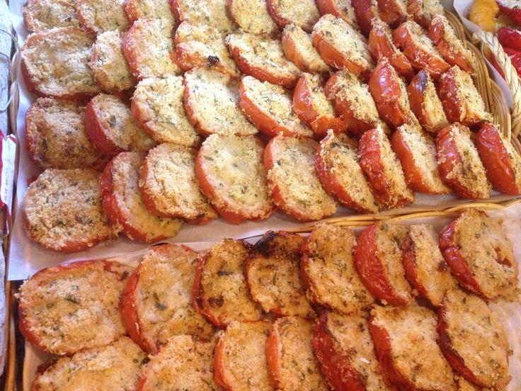 Prova la #piadina con #pomodori gratinati