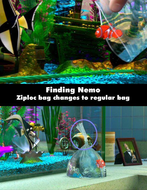 Finding Nemo movie mistake picture | Disney Easter eggs ...