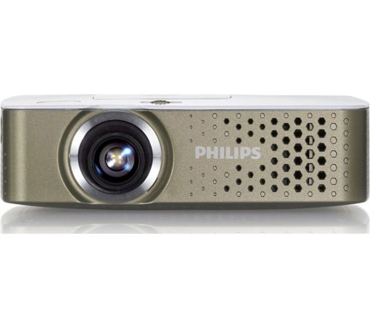 "Buy PHILIPS  PicoPix PPX3414 Portable Projector Price: £279.99 Top features: - Large projections up to 120"" for any surface - Easily connected with HDMI compatibility and SD memory card reader - Perfectly portable with a slim, lightweight design and internal battery Large projectionsPerfect for displaying photos or showing off your favourite videos, the Philips PicoPix PPX3414 Portable..."