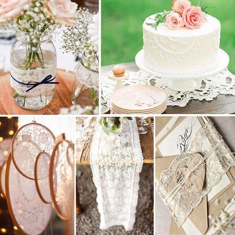 Düğün temanızda dantel detaylar düğün konseptinizi görsel bir şölene dönüştürebilir…