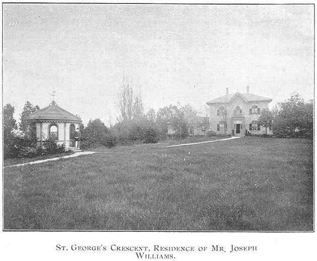 Williams House, St.George's Crs., Goderich,Ontario c.1897 #Goderich #RediscoverGoderich #VintageGoderich