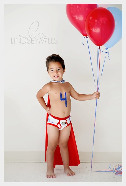 4th birthday boy image idea kids pictures..haha wonder if I can get kaedon to do this!