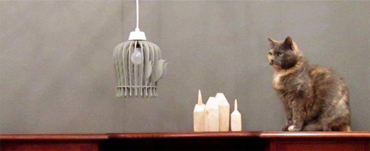 Pendant BirdCage Lamp
