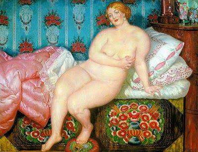 Boris Kustodiev, Beauty, 1915