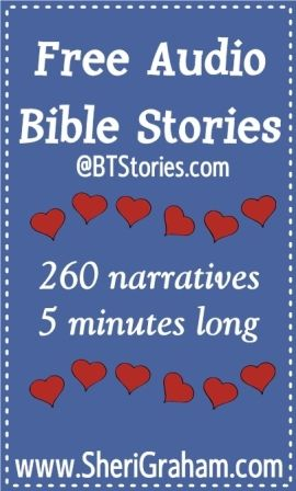 Free Audio Bible Stories {Great for your whole family!} - Sheri Graham