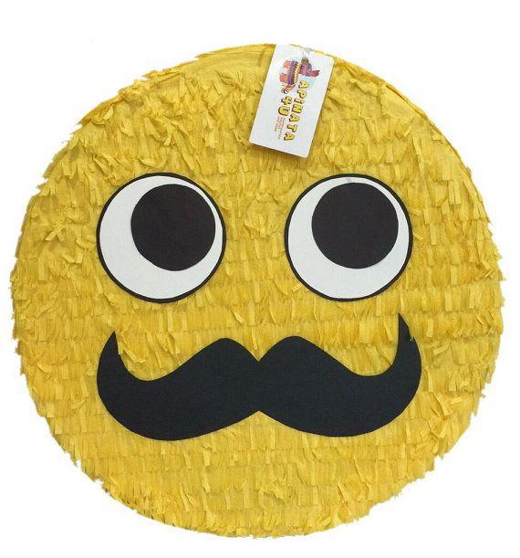Bigote Emoticon Pinata