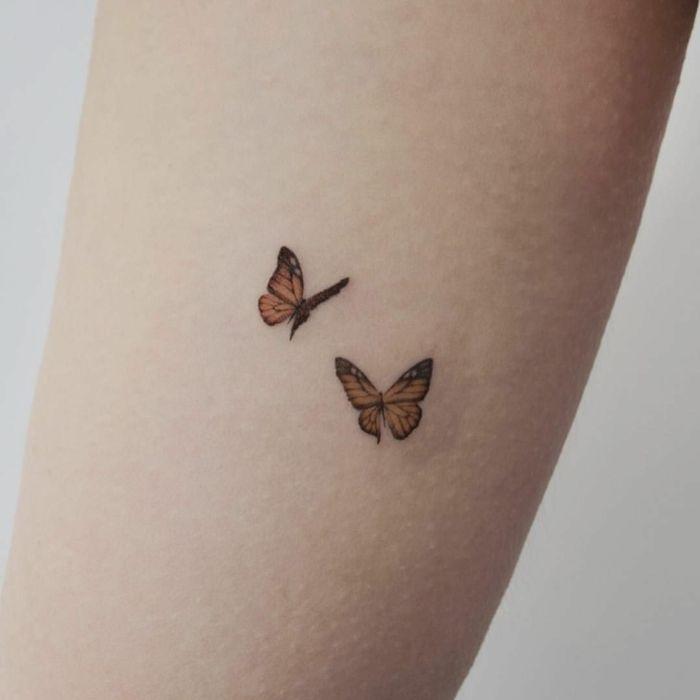 1001 Ideas De Tatuajes De Mariposas Super Bonitos Unique Small Tattoo Little Tattoo For Girls Small Tattoos