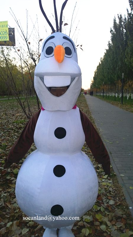 Christmas Frozen Snow Olaf Cartoon Mascot Costume,Cosplay Costume for Adults,Clothing,Birthday Costume,Halloween Costumes,Christmas Costumes https://www.etsy.com/listing/192741384/christmas-frozen-snow-olaf-cartoon?ref=shop_home_feat_1