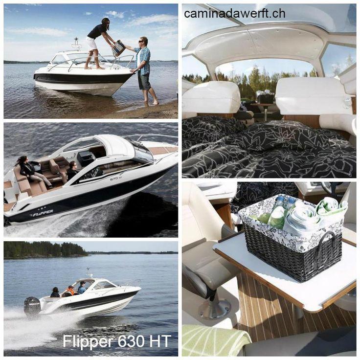 Flipper 630 HT- Mehr Informationen bei www.CaminadaWerft.ch Oder einfach über Telefon +41 (41) 340 40 14 C. Müsken  #flipperboats #motorboat #motorboot #schweiz #suisse #svizzera #luzern #basel #zürich #genf #geneva #vierwaldstättersee #zürisee #zürichsee #bodensee #speedboot #walensee #genfersee #lacleman #neuenburgersee #lacdeneuchatel #langensee #lagomaggiore #luganersee #lagodielugano #thunersee