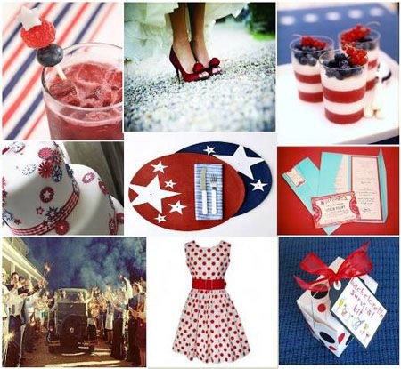 79 best 4th of July Weddings! images on Pinterest | July wedding ...