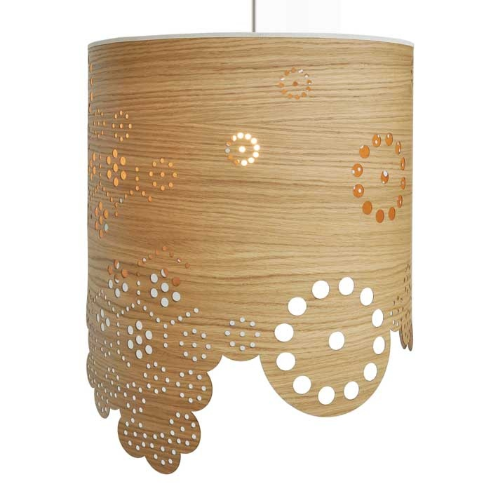 Lamp Shades Modern On Modern Lamp Shade Drum By Skandivis Perforated Shades