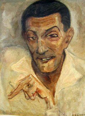 Adriaan herman Gouwe, Portret van Morillot ,1930