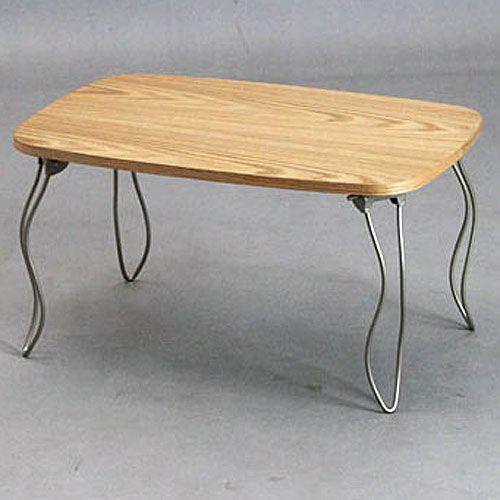 猫脚折りたたみテーブル 折りたたみ猫脚コンパクトテーブル 幅60cm ナチュラル