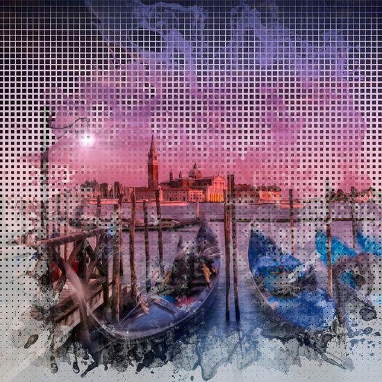 Neu in meiner Galerie bei OhMyPrints: Graphic Art VENEDIG Traumhafter Sonnenuntergang #Venedig #Venice #sunset #Sonnenuntergang #modern #wallart #trendy #dekorativ #decorative