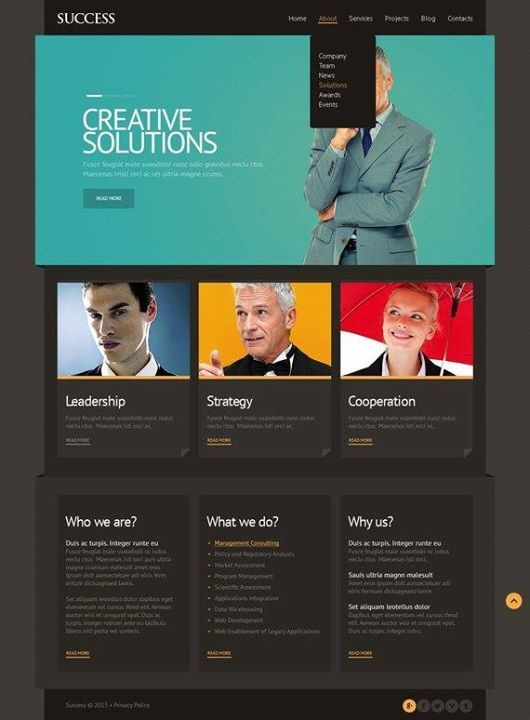 62 best Business Website Templates images on Pinterest Business - timeline website template