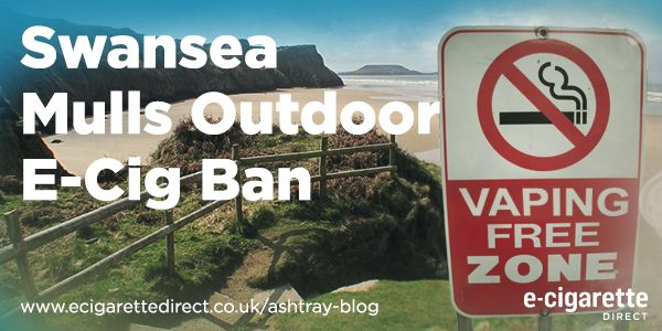 Swansea beaches could become vape free zones.
