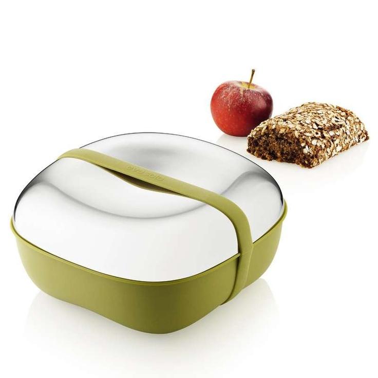 Eva Solo Box na jídlo, zelený/lesk