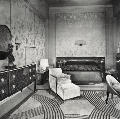 238 best images about art deco interiors on pinterest - Salon art deco paris ...