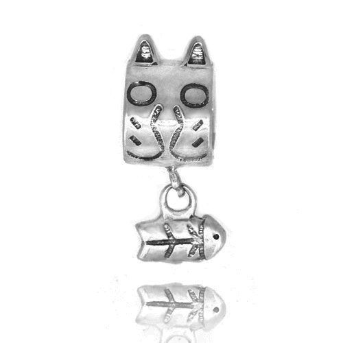 New 925 Silver Puppy Dog Love Bone Paw Print Charm Cheap Fit Pandora Chamilia Style Bracelet Snake Chain Su8Zc7