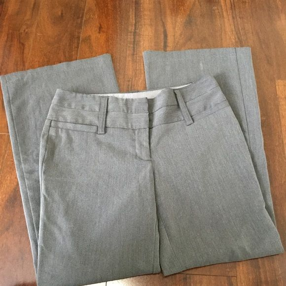 Charlotte RUSSE DRESS PANTS GREY SIZE 6 LIKE NEW Charlotte Russe career work dress pants size 6  LIKE NEW EXCELLENT CONDITION  Perfect for all occasions! career, work, or casual  Size 6   All items ship same or next business day! (M-F, no holidays) Please feel free to contact with any questions!  If you are interested in purchasing multiple items we do offer discounts and/or combined shipping! Just ask! Charlotte Russe Pants Trousers
