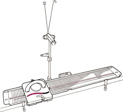 Good basic tutorials. Not exclusive to the LK150 Knitting Machine