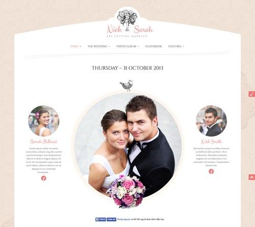 The Wedding Wedding Template