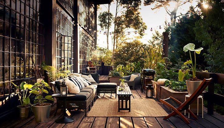 Mikkel Vang for IKEA #summer #patio