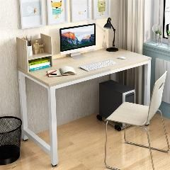 [ $65 OFF ] Simple Modern Office Desk Portable Computer Desk Home Office Furniture Study Writing Table Desktop Laptop Table
