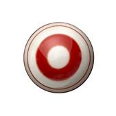 Keramik greb, røde striber