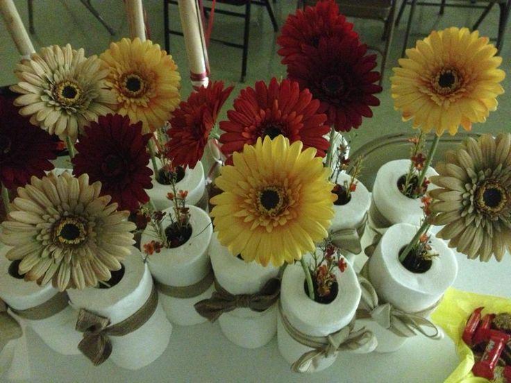 Retirement Flower Centerpieces