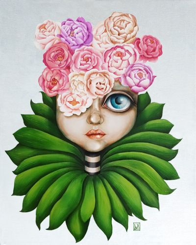 Shabby Chic by Lux #oil #painting #surrealism #surreal #shabby #popsurreal #lowbrown #shabbychic