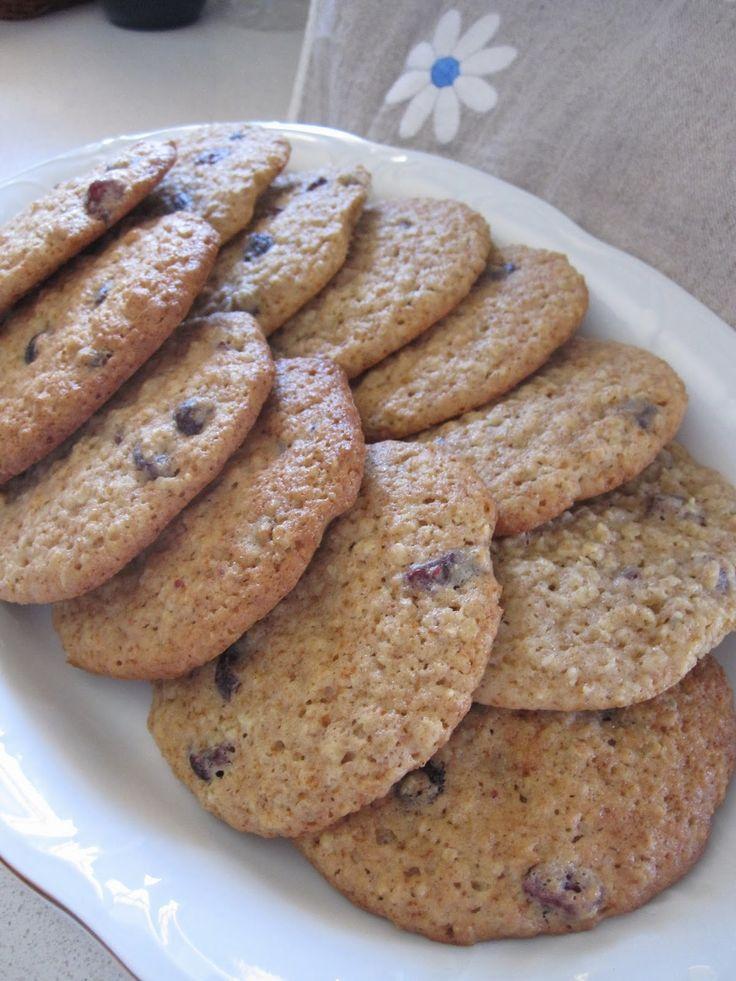 Y si cocino hoy?: Mega-Galletas integrales de avena y arandanos