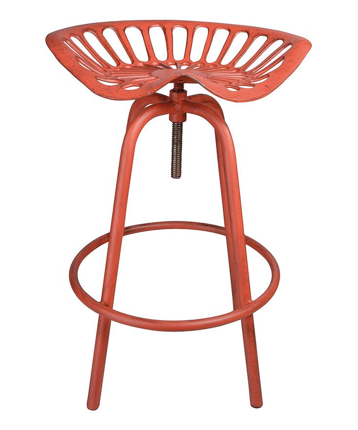 Look at this #zulilyfind! Red Tractor Chair by Esschert Design #zulilyfinds