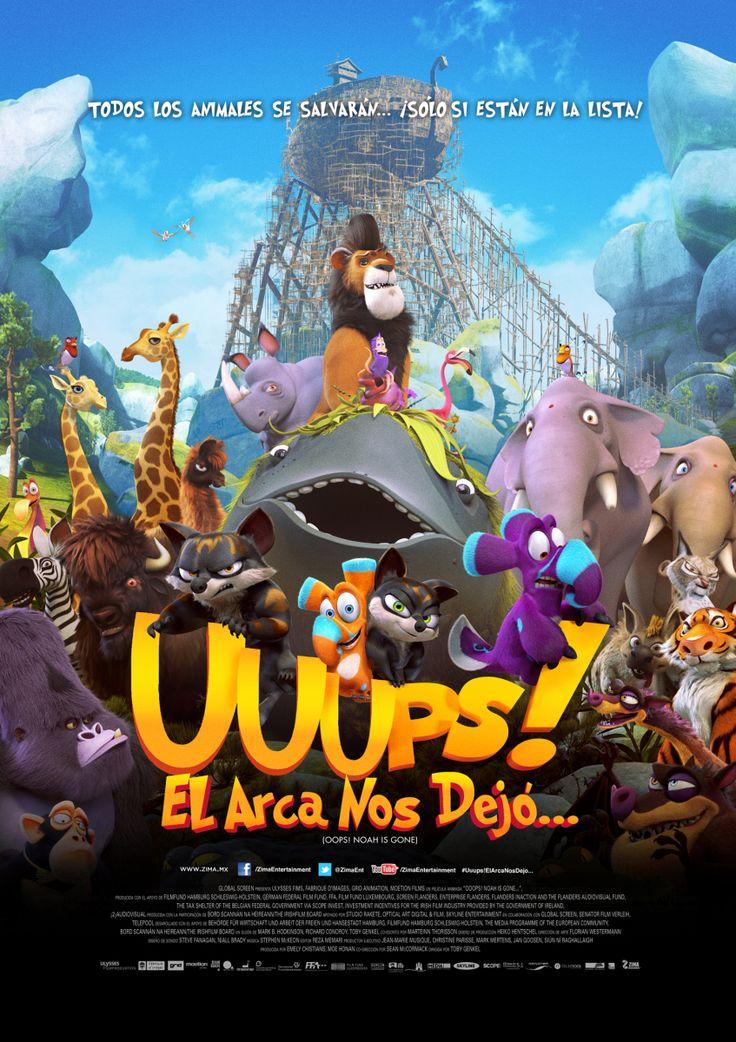 Cinema Unickshak Uuups El Arca Nos Dejo Cine Mexico Film D Animation Films Pour Enfants Film Francais