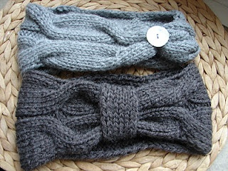 Stirnband stricken DIY L'inutile
