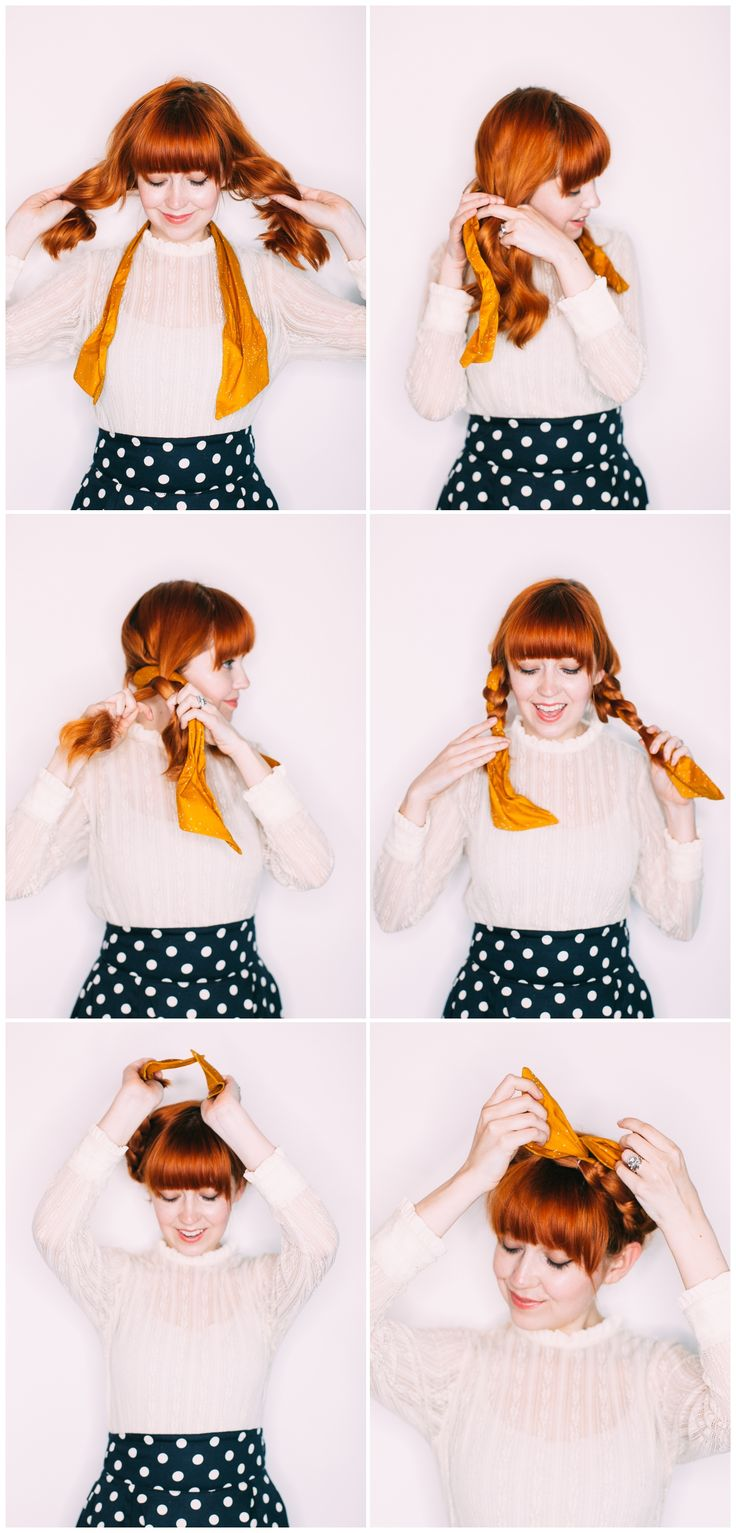 Five easy hairstyles using a headband