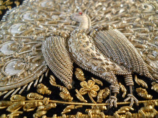 Роскошные вышивки в стиле «зардози» — Рукоделие