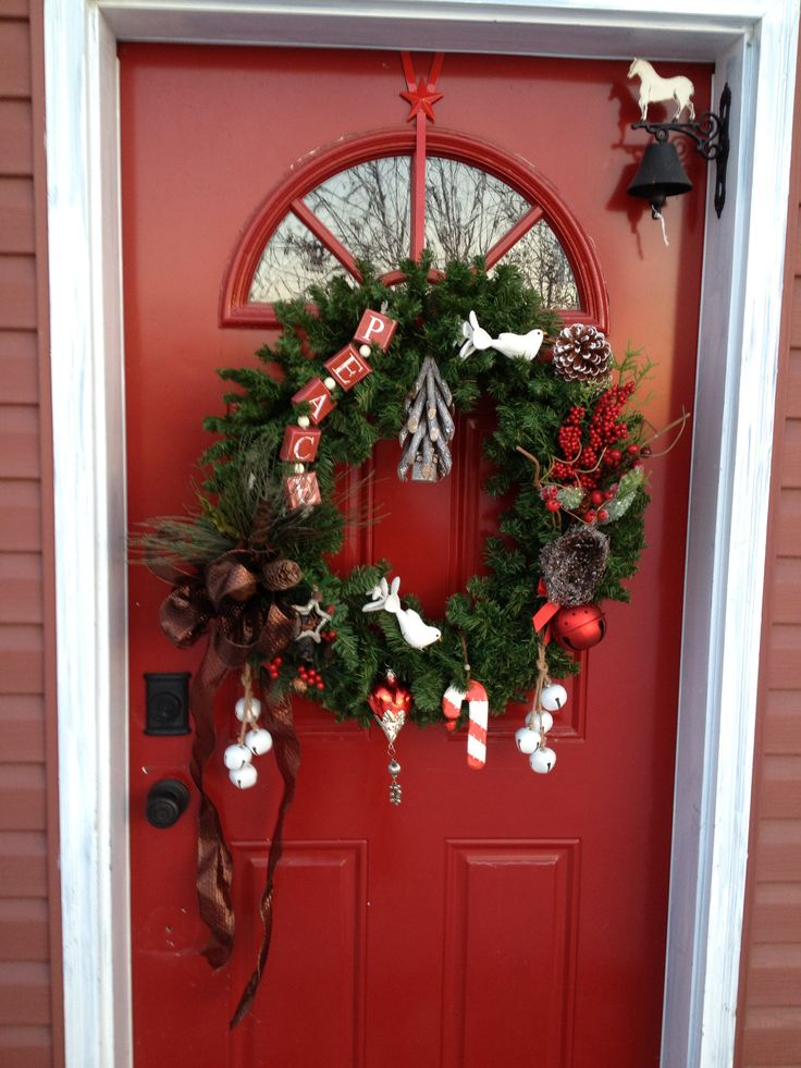 christmas wreath ideas 17 best images about door on front 11086