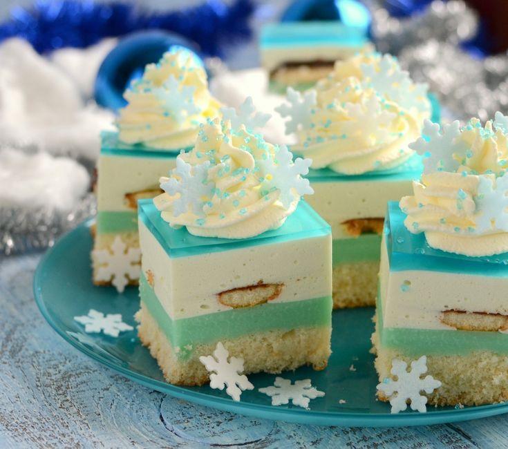 Gotuj z Cukiereczkiem: Ciasto Królowa Śniegu