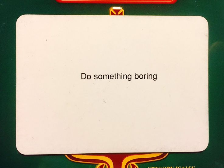 Oblique Strategy of the Day by Brian Eno & Peter Schmidt.