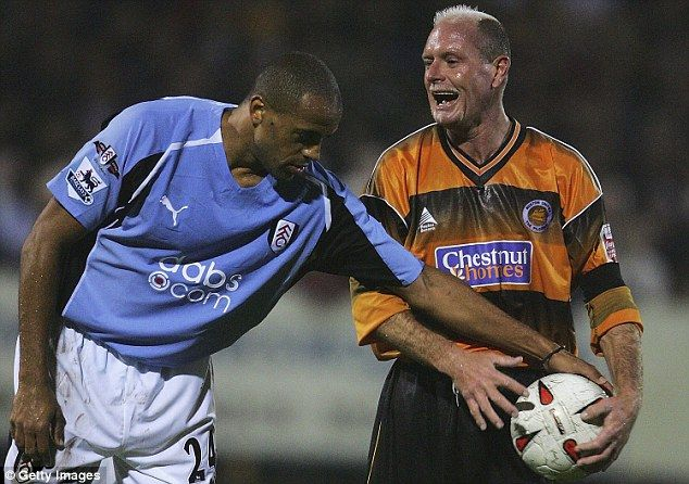 The former England international went to play for Boston United in League Two in 2004