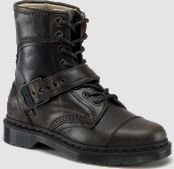 These are hot.  Yep, yes they are.  :) Doc Martens Men's boots in style Triumph 1460.  These might look good with the kilt in addition to his jeans. $160.00