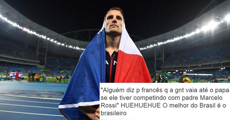 A gente reclama, reclama do Brasil, mas a gente defende com unhas e dentes!