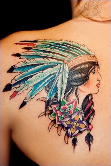 141 best images about native american tattoos on pinterest for Native american woman tattoo