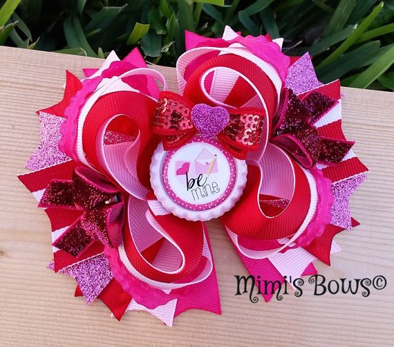 Hey, I found this really awesome Etsy listing at https://www.etsy.com/listing/217090012/valentines-day-boutique-hair-bow