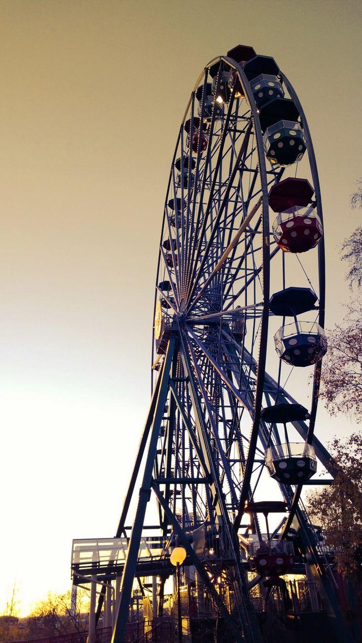 Linnanmäki amusement park, Helsinki, Finland